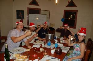 …Et celui des expats était de manger la fondue !