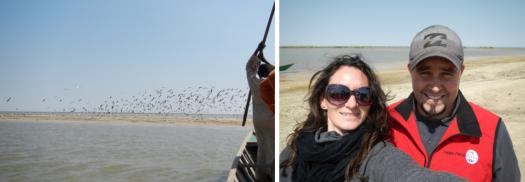 … et arrivée au lac Tchad !